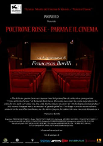 Poster of Red Chairs - Parma and the Cinema