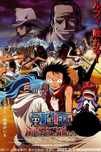 Poster of One Piece: The Desert Princess and the Pirates: Adventure in Alabasta