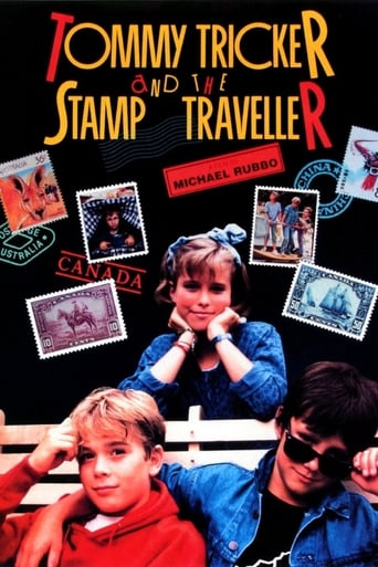 Poster of Tommy Tricker and the Stamp Traveller