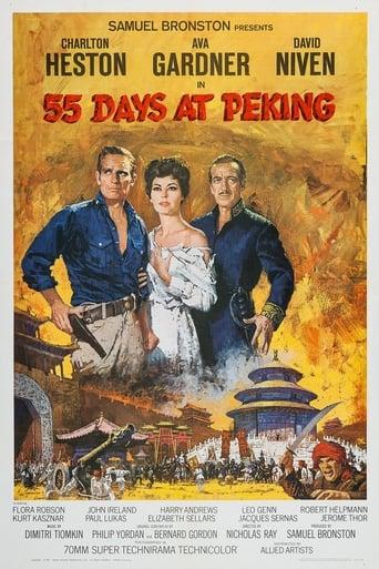 Poster of 55 Days at Peking