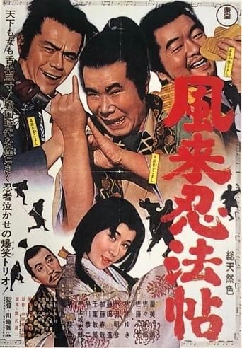 Poster of 風来忍法帖