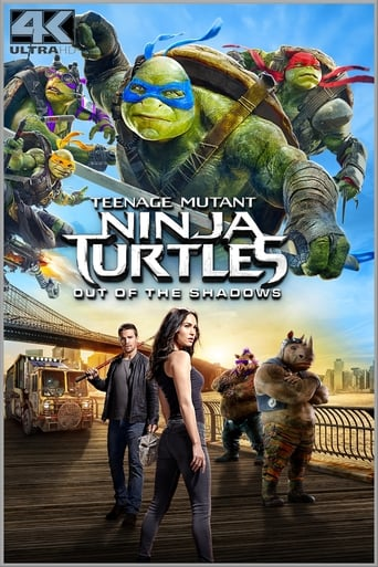 Filmplakat von Teenage Mutant Ninja Turtles: Out of the Shadows