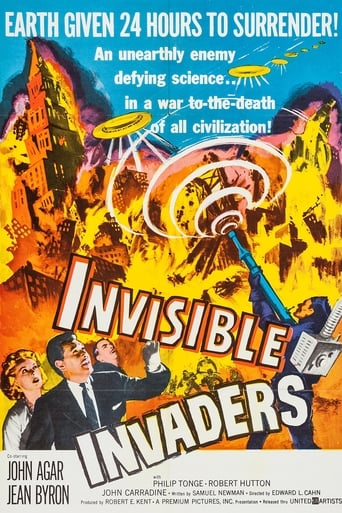 Poster of Invisible Invaders