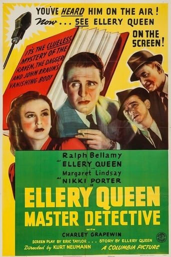 Poster of Ellery Queen, Master Detective