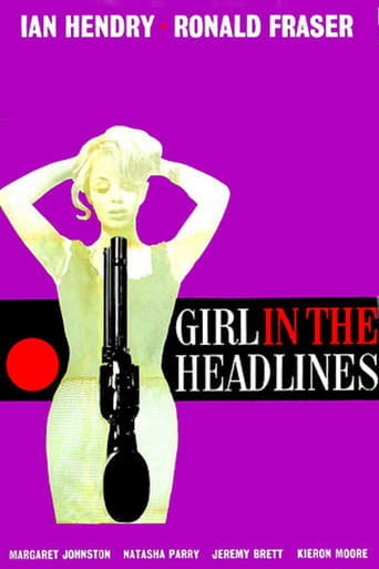 Poster of Girl in the Headlines