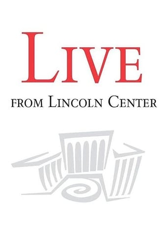 Poster of Live from Lincoln Center