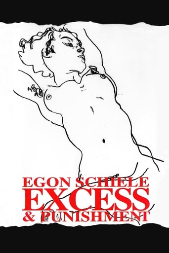 Poster of Egon Schiele: Excess and Punishment