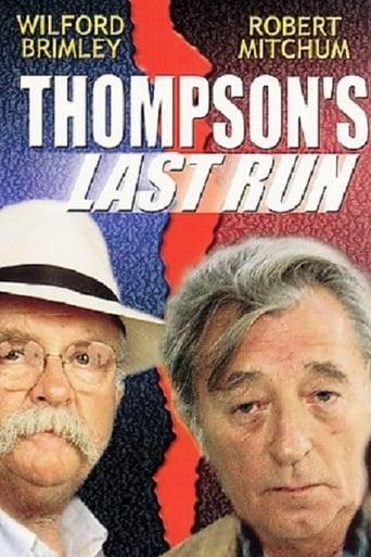 Poster of Thompson's Last Run