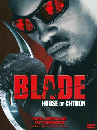 Poster of Blade: House of Chthon