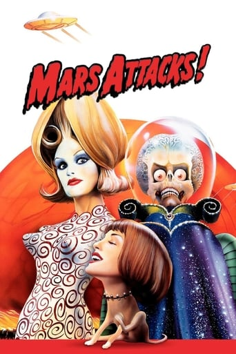 Poster of Mars Attacks!