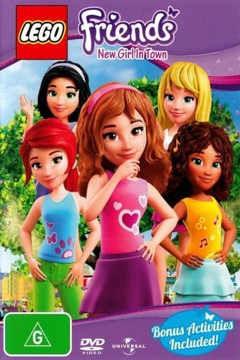 Poster of Lego Friends: New Girl In Town