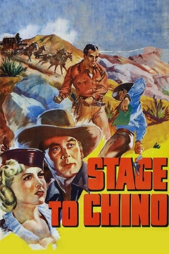 Poster of Stage to Chino