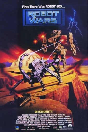 Poster of Robot Wars