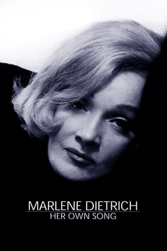 Poster of Marlene Dietrich: Her Own Song