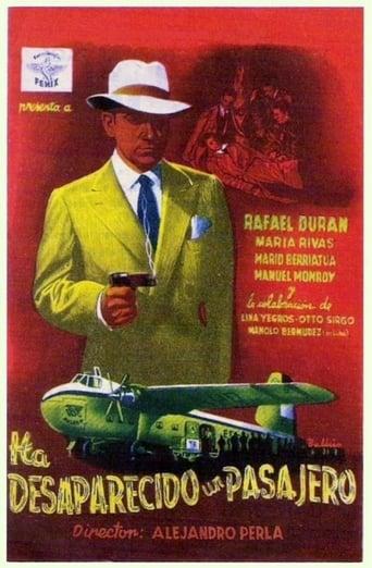 Poster of Ha desaparecido un pasajero