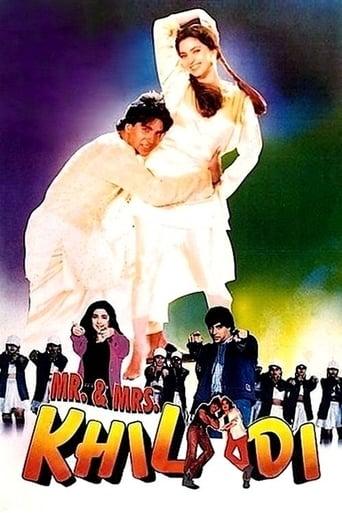 Poster of Mr. & Mrs. Khiladi