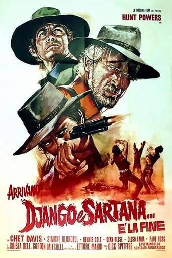Poster of Django and Sartana Are Coming... It's the End