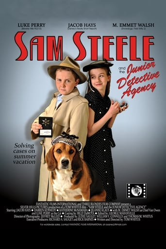 Poster of Sam Steele and the Junior Detective Agency