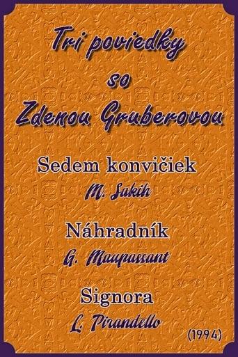 Poster of Tri poviedky so Zdenou Gruberovou