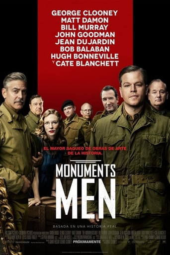 Poster of Monuments Men
