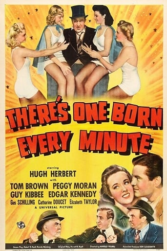 Poster of There's One Born Every Minute