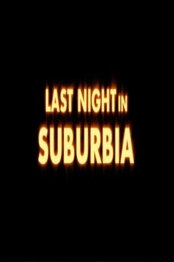 Poster of Last Night in Suburbia
