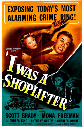 Poster of I Was a Shoplifter