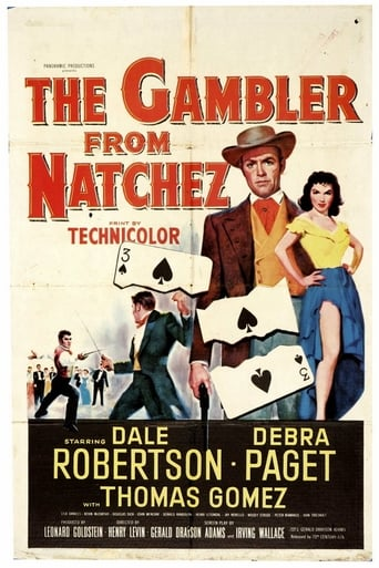 Poster of The Gambler from Natchez