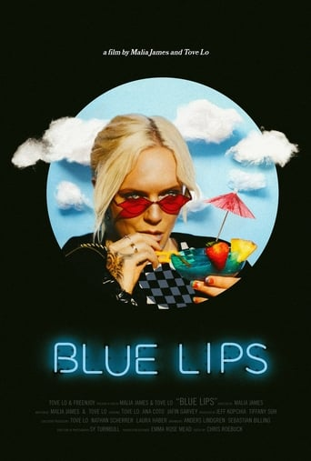 Blue Lips poster