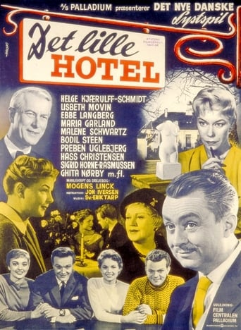 Poster of Det lille hotel