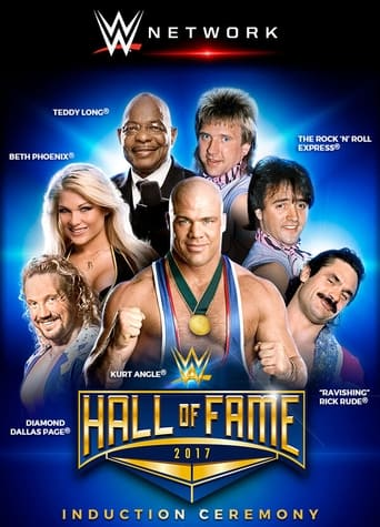 Poster of WWE Hall of Fame 2017