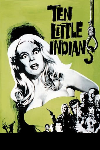 Poster of Ten Little Indians