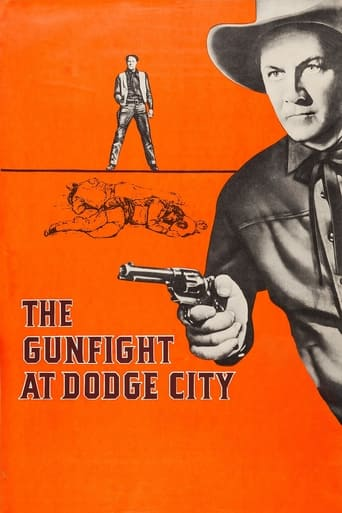 Poster of The Gunfight at Dodge City