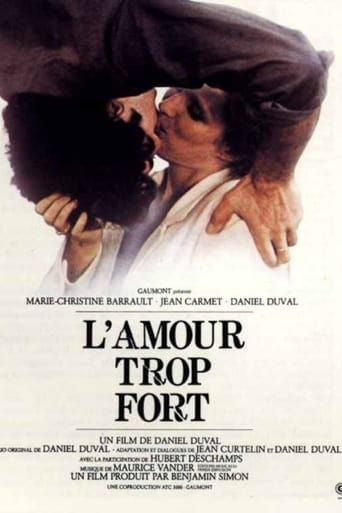 Poster of L'amour trop fort