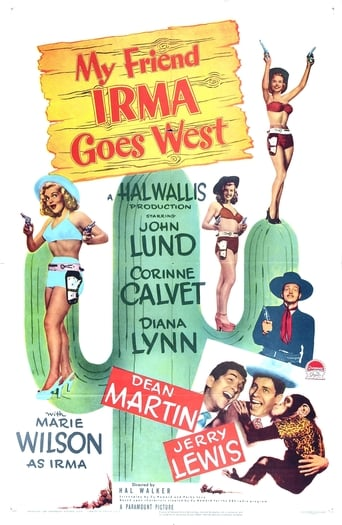 Poster of My Friend Irma Goes West