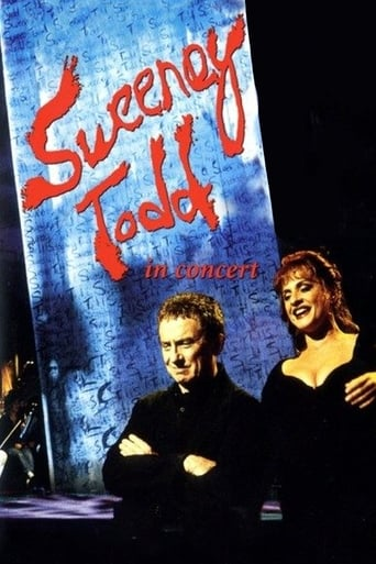 Poster of Sweeney Todd:  In Concert with the New York Philharmonic