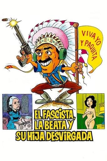 Poster of El fascista, la beata y su hija desvirgada