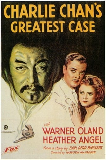 Poster of Charlie Chan's Greatest Case