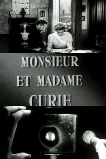 Poster of Monsieur et Madame Curie