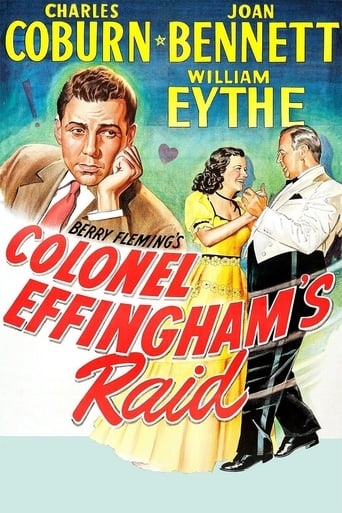 Poster of Colonel Effingham's Raid