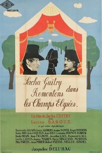 Poster of Let's Go Up the Champs-Élysées