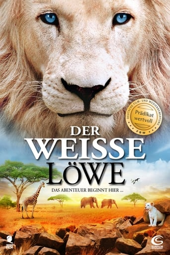 Filmplakat von Der weisse Löwe