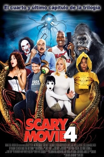 Poster of Scary Movie 4