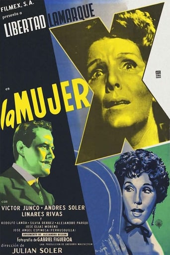 Poster of La mujer X