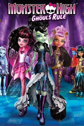Poster of Monster High: Ghouls Rule
