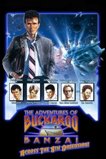 Poster of The Adventures of Buckaroo Banzai Across the 8th Dimension
