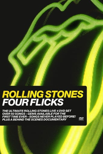 Poster of The Rolling Stones: Four Flicks