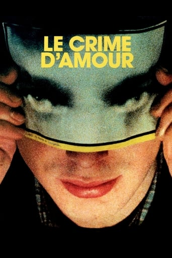 Poster of Le Crime d'amour