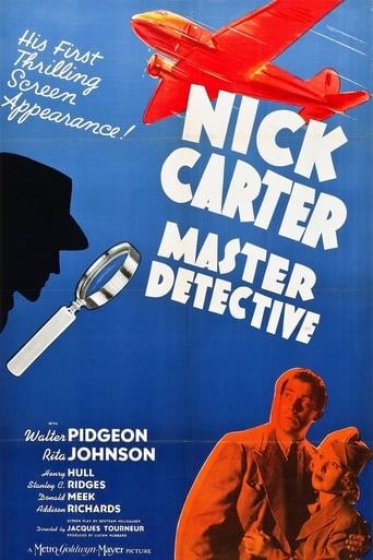 Poster of Nick Carter, Master Detective