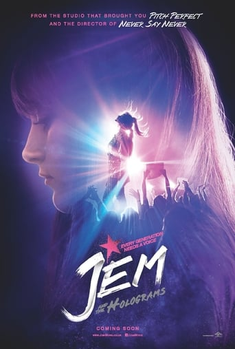 Poster of Jem and the Holograms